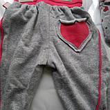 Детский спортивный  хлопковый костюм для новорожденных малышей, фото 6