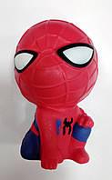 Большой сквиши антистресс человек паук с ароматом , спайдермен