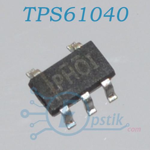 TPS61040, DC/DC преобразователь 400мА, 1МГц., SOT23-5