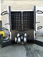 Твердотопливный, пеллетный котел 500 кВт с факельной горелкой + шнек питатель + щит управления