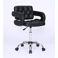 Маникюрные кресло мастера, кресло для клиента HC-8403K Черный
