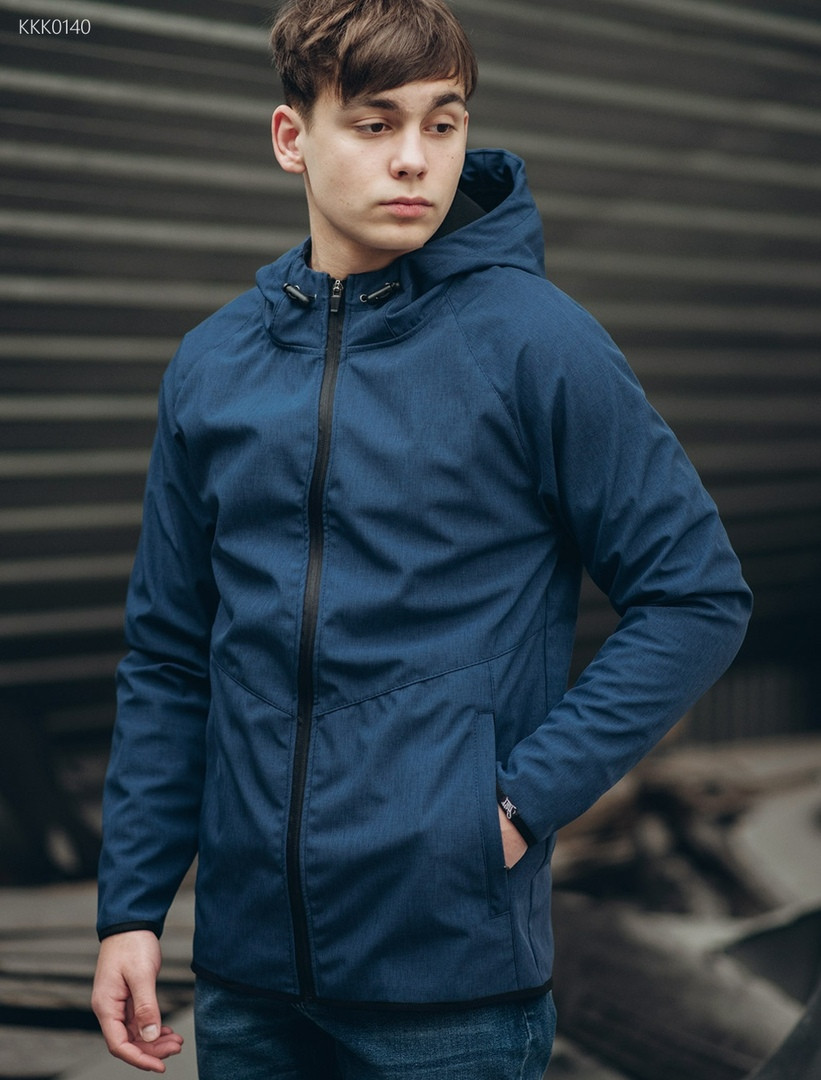 Куртка Staff soft shell RAN navy melange KKK0140 - Интернет-магазин