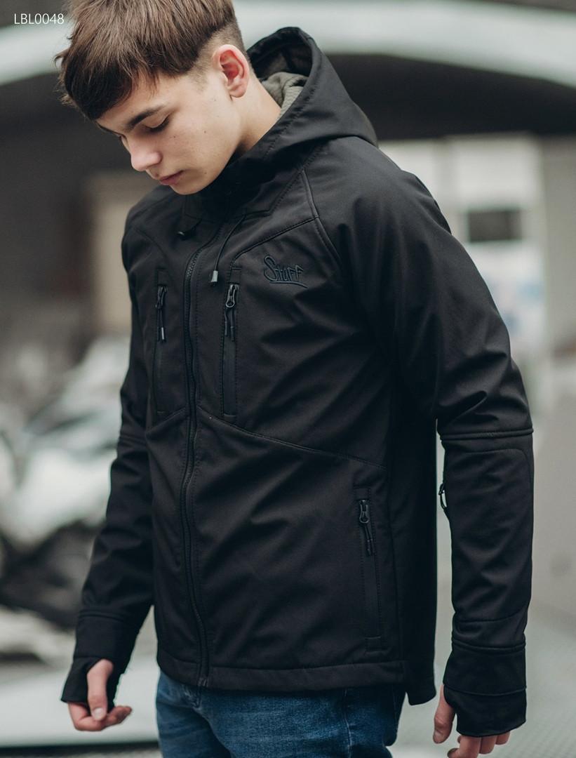Куртка Staff soft shell black LBL0048 - Интернет-магазин