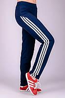 Спортивные брюки женские Фитнес-2 (синие)