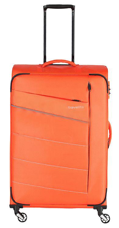 Средний тканевый чемодан Travelite KITE TL089948-87 67 л, оранжевый