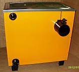 КОТВ-12,5 П Котел-плита твердопаливний з конфоркою, фото 2