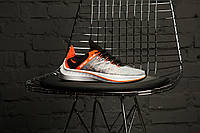 Мужские кроссовки в стиле Nike EXP-X14 Just Do It Pack (black/orange), Реплика ААА, фото 1