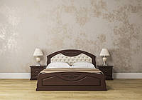 Кровать «Грация» Roka 1400*2000, каштан, махонь, орех, темный орех Roka