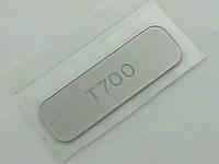 Корпус Sony Ericsson T700 наклейка задней части T700 silver, оригинал