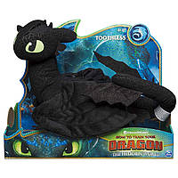 Дракон Беззубик мягкая игрушка (35 см.) Dreamworks Dragon - Spin Master