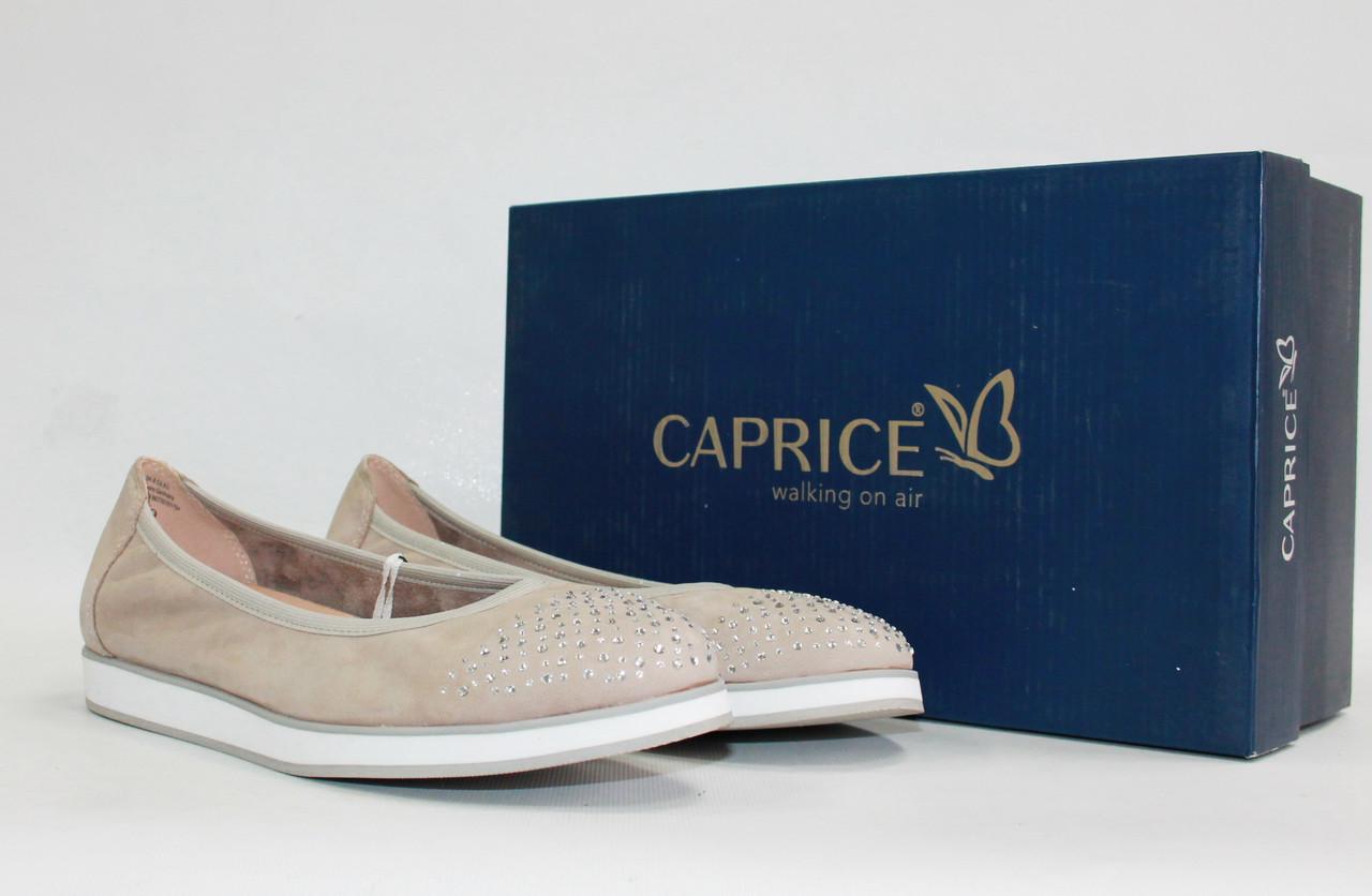 hot sale online d77ef 05667 Женские балетки Caprice оригинал Германия натуральная кожа 38