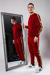 Спортивный костюм OFF White красного цвета (люкс копия)