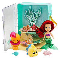 Набор Ариель в чемоданчике (Disney Animators Collection Ariel Mini Doll Play Set)