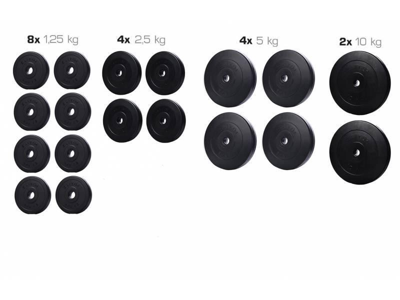 Набор ELITUM из композитных дисков В-90 кг