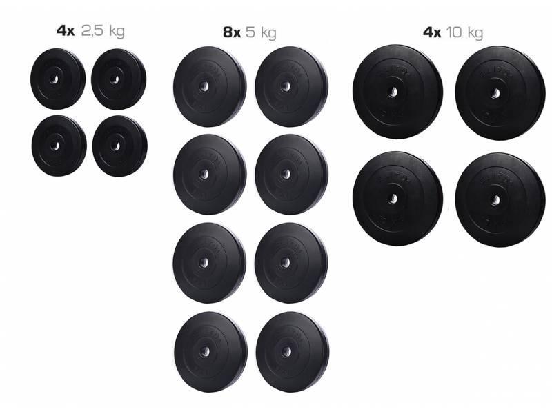 Набор ELITUM из композитных дисков А-90 кг