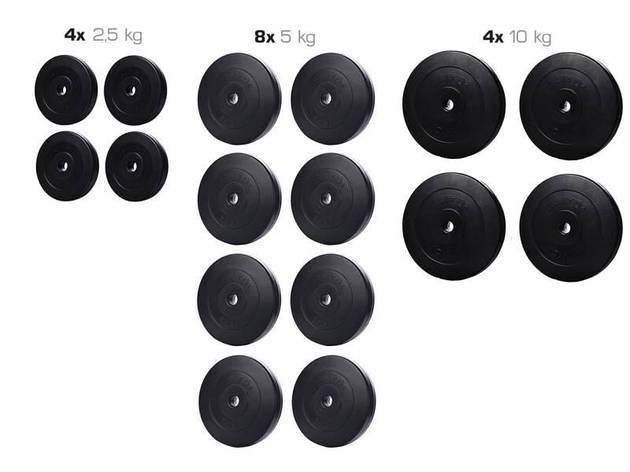 Набор ELITUM из композитных дисков А-90 кг, фото 2