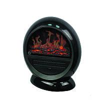 Тепловентилятор 3D-Камин 750 Вт Черный (5245)