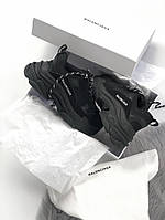 Женские кроссовки Balenciaga Triple S (full black), женские кроссовки balenciaga triple s черные