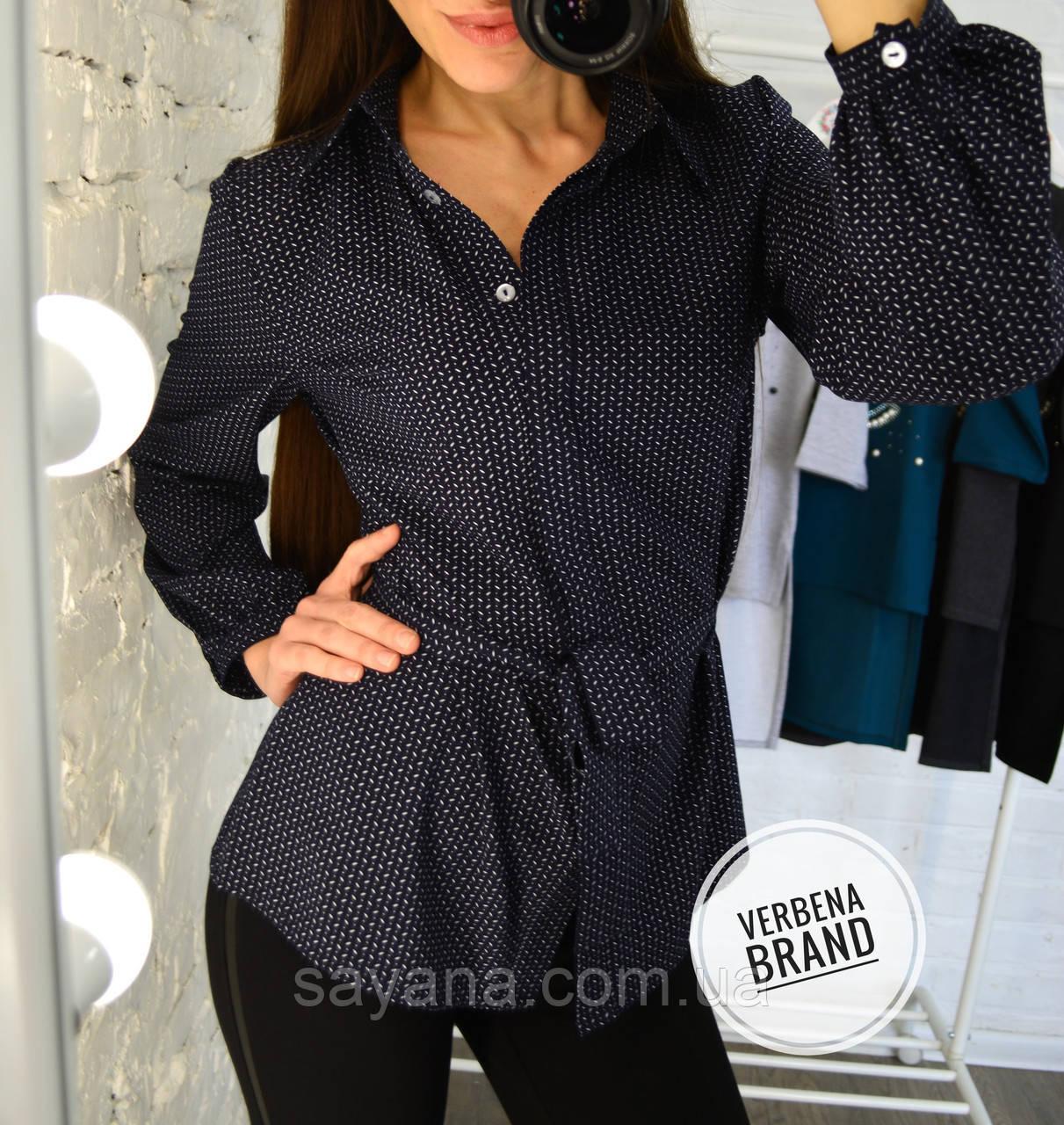 Женская блуза с принтом в расцветках. ВЕ-7-1-0219