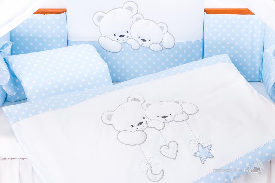Набір дитячої постелі Tuttolina Cuddle Bears