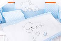 Набір дитячої постелі Tuttolina Cuddle Bears, фото 1