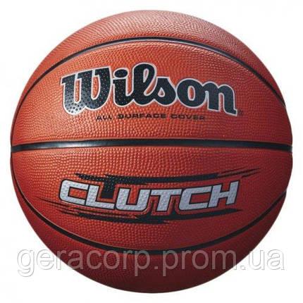 Мяч баскетбольный Wilson Cluch bball brown sz7 , фото 2