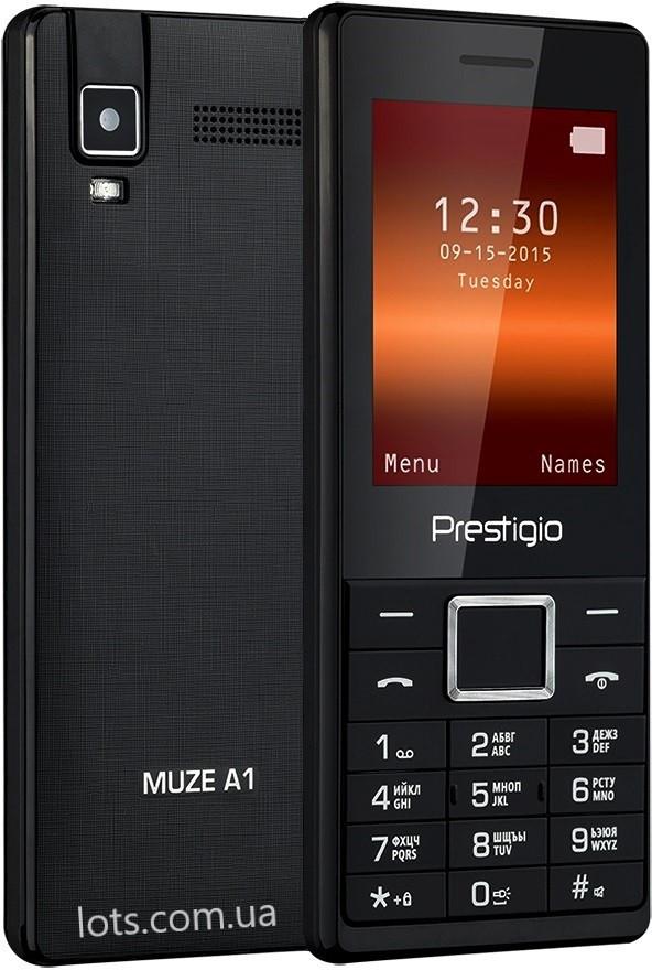 Телефон Prestigio 1241 Black