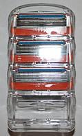 Gillette Fusion Power 3 штуки без упаковки оригинал