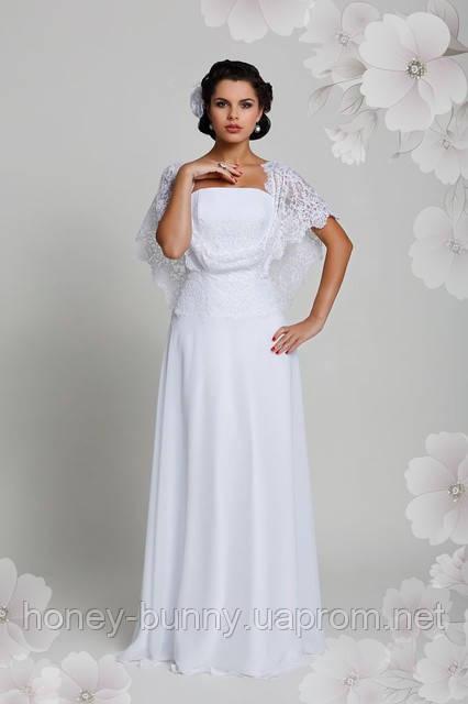 01dc77dd8c6 ... Подвенечное платье из гипюра и шифона