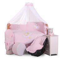 """Дитяча постіль для ліжка з бортиками """"Tuttolina"""" Clouds"""