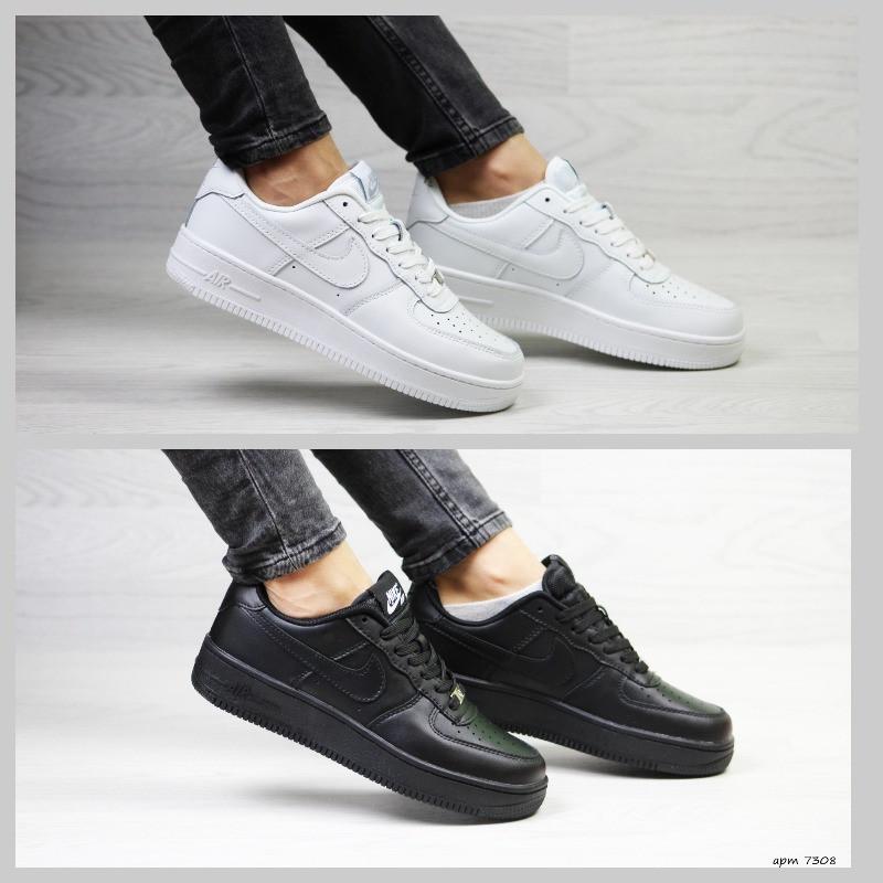 5f822e5b Женские кроссовки Nike Air Force белые черные: 860 грн. - Спортивная ...