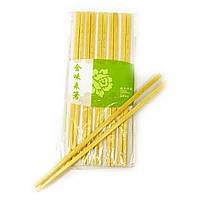 Палочки для еды бамбук (10 пар) (24х10х1 см)