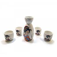 Оригинальный керамический набор для сакэ