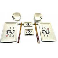 """Красивый набор для суши и роллов """"Драконы"""""""