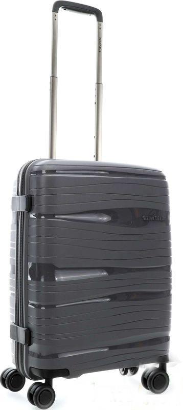 Чемодан малый пластиковый Travelite Motion Tl074947-04 37 л, серый