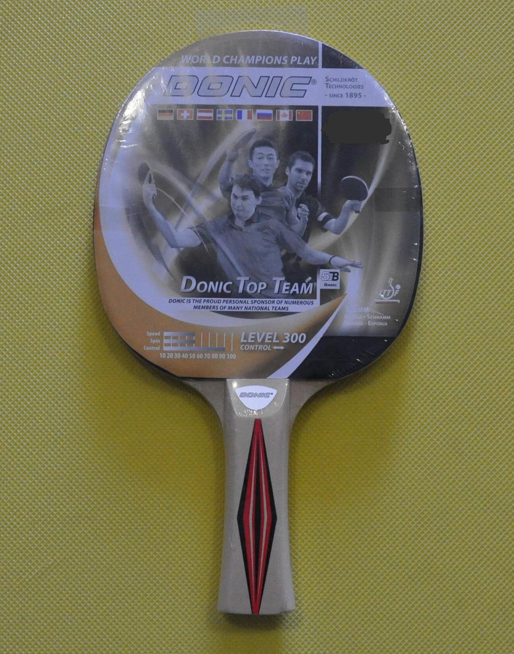 Ракетка для настільного тенісу DONIC 300 TOP TEAMS 705030 deef84f544ca3