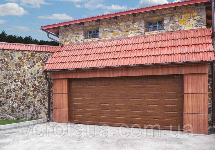 Секційні гаражні ворота DoorHan серії RSD01