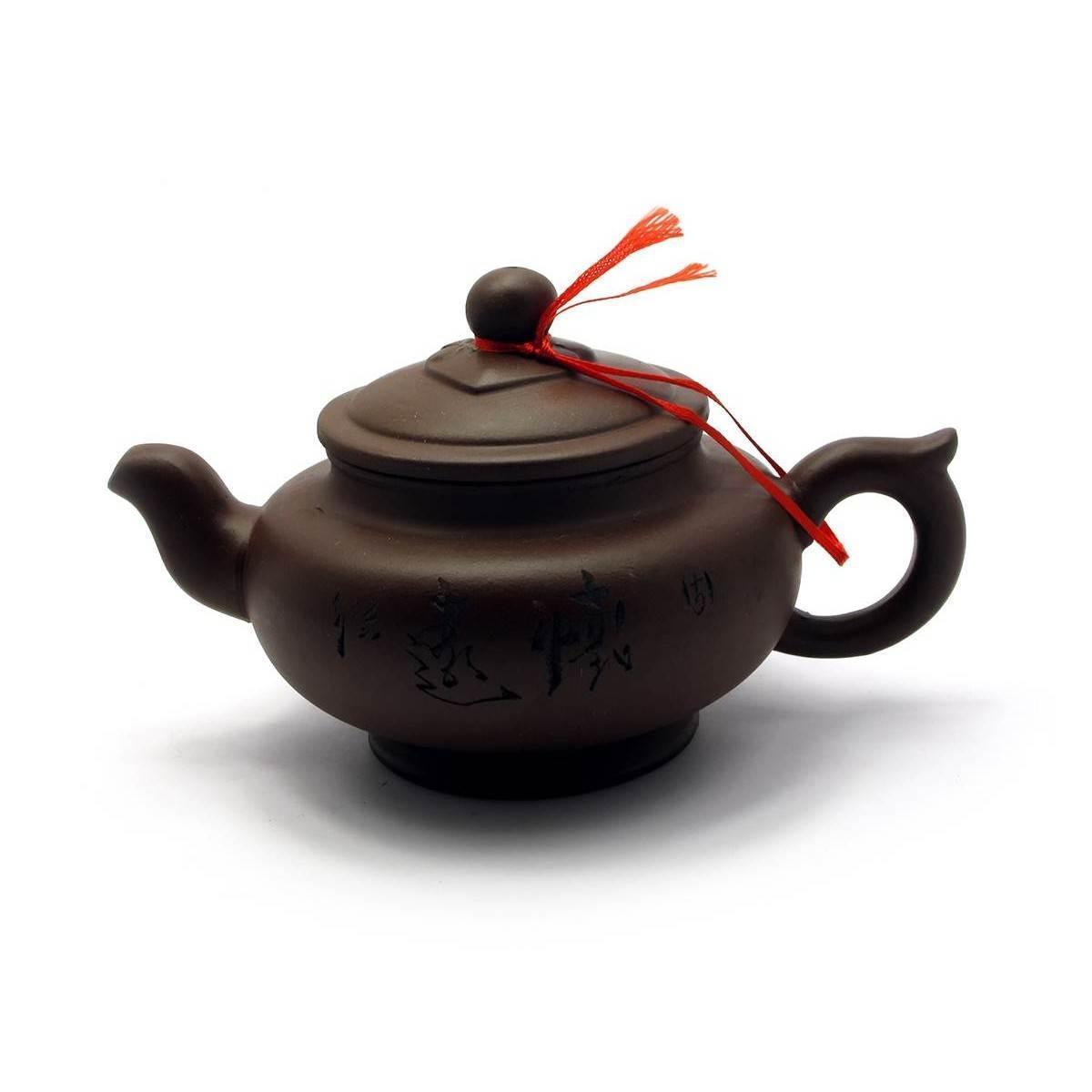 Чайник глиняный (350мл.)(18х17х11 см)
