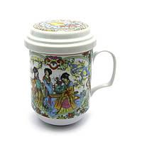 Красивая чашка для заварки