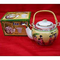 Чайник из глины для заваривания чая (750мл.)