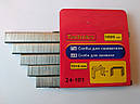 Скоба для мебельного степлера (сшивателя) 11,3мм х 8мм х 0,7мм, 1000шт TECHNICS оптом, фото 2