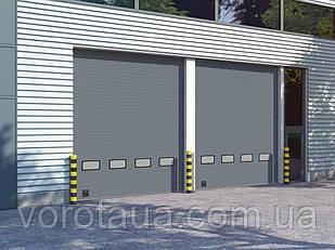 Промышленные секционные ворота DoorHan ISD01