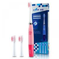 Seago SG-915B Sonic Pink Звуковая электрическая зубная щетка, фото 6
