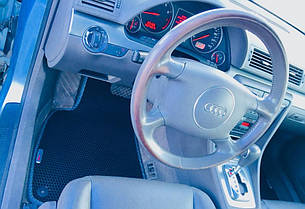 Автоковрики для Audi A4 (B6) (2001-2004) eva коврики от ТМ EvaKovrik