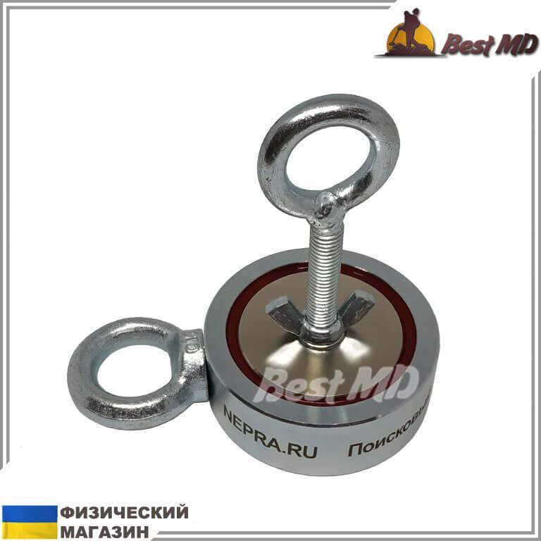 Двухсторонний поисковый магнит НЕПРА 2F120