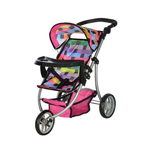 Трехколесная коляска для кукол MELOGO 9377 B-T