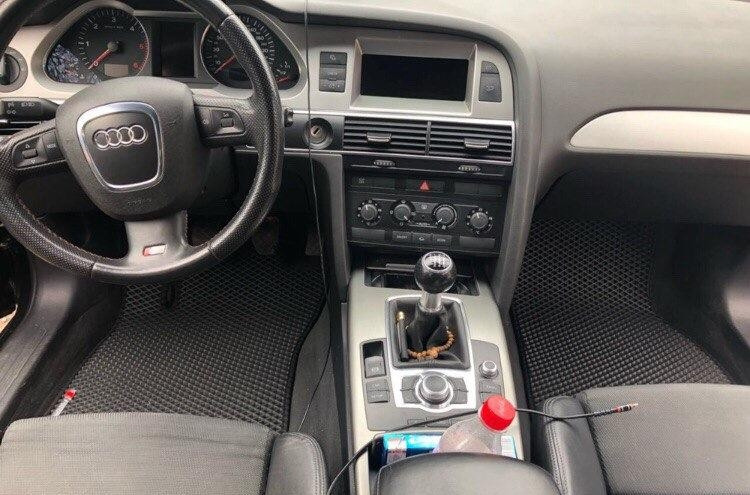 """Автоковрики ЭВА от ТМ """"EvaKovrik"""" для Audi A6 (C6) (2004-2011)"""