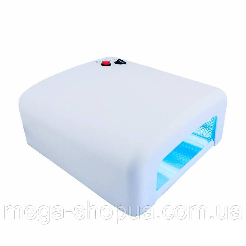 УФ лампа для ногтей 36Вт сушилка для ногтей с таймером ZY-818