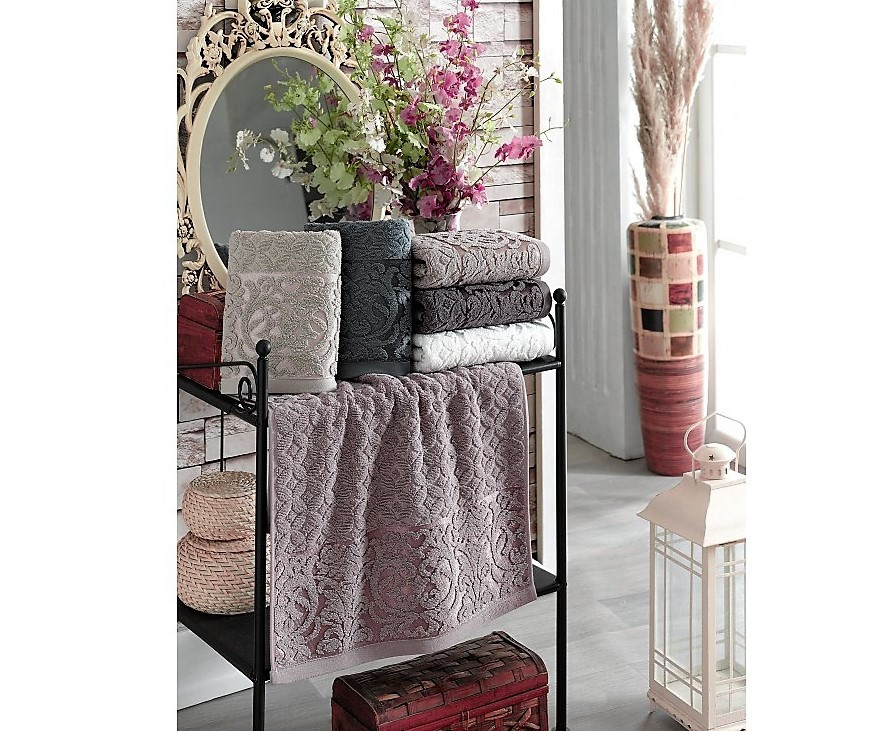 Махровое полотенце Lux Cotton 70*140 см Philippus 6 шт./уп.,Турция
