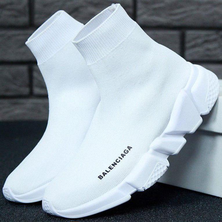 Женские кроссовки Balenciaga Speed Trainer Sock White